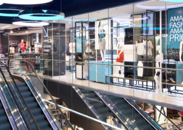 Primark Chester Mechanical installation