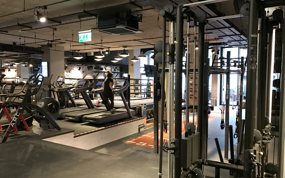 Bxr Gym London Hensall Group Of Building Services