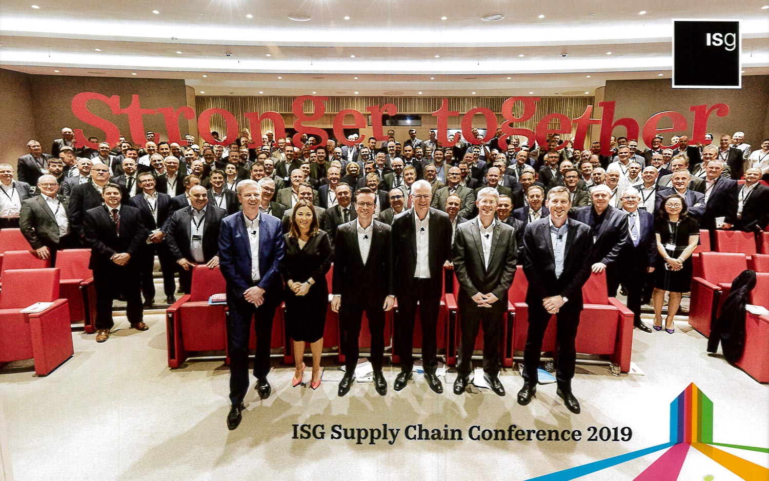 Hensall nominated for 'Dream Smart' award at ISG Supply Chain Conference 2018